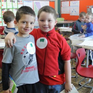 first graders friday morning crop