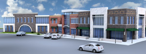 Rendering of Building I in The District