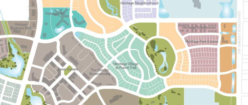 Full Image Blog Post Map - Prairie Trail on